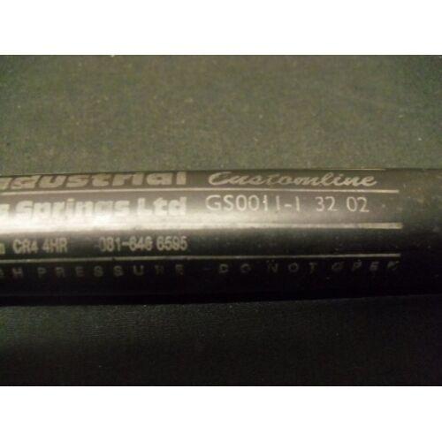 Resorte de gas industrial muelles de gas gs0011-1-32-02 gs001113202