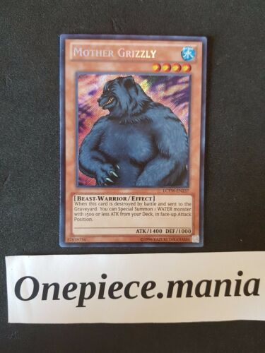 Mother Grizzly LCYW-EN237 Secret Rare Mint Sleeved Yu-Gi-Oh