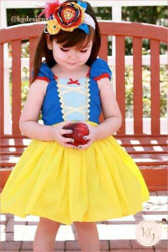 Snow White Disney Child Tutu Princess Costume Dress