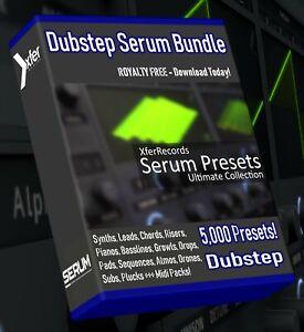 Details about Dubstep SERUM Synth Presets - LOGIC ABLETON FL STUDIO CUBASE  REASON SONAR xFer