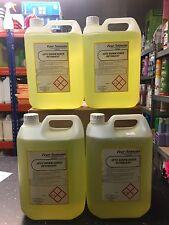 DISHWASHER DISH WASHER CLEANER DETERGENT FLUID LIQUID  x 5 LTR TOTAL 20 LITRES