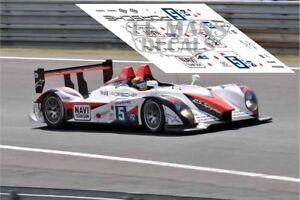 Calcas Porsche RS Spyder Le Mans 2009 5 1:32 1:43 1:24 1:18 slot decals