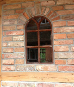 Fenêtre De Fer Avec En Plein Cintre, D'écurie, , Comme Antique, Neuf
