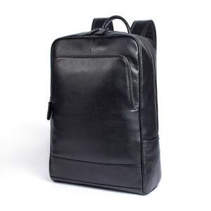 Mens-Womens-Genuine-Leather-Backpack-Laptop-School-Bag-Travel-Rucksack-Large