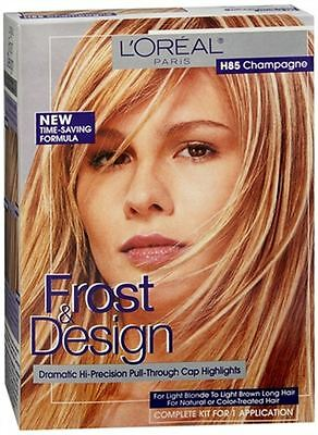 L Oreal Frost Design Highlights H85 Champagne 1 Each Pack Of 9 71249330005 Ebay