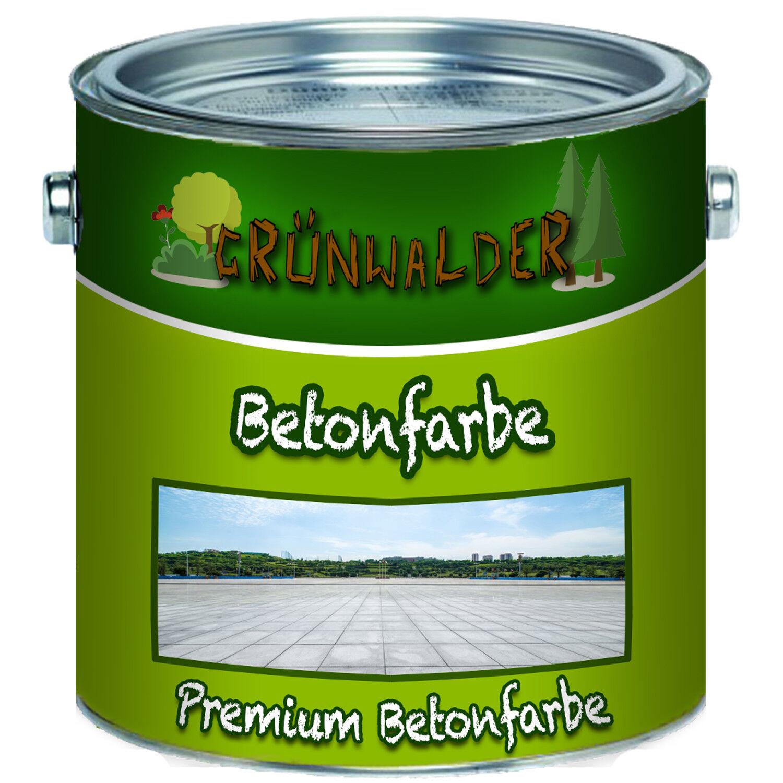 Grünwalder Fassadenfarbe Silber premium Betonfarbe 2,5L 5L 10L RAL 7001 Grau
