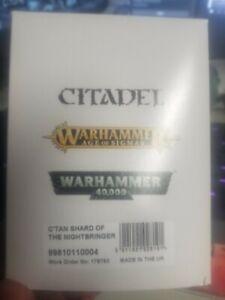 Warhammer 40k Necron C'Tan Shard of the Nightbringer