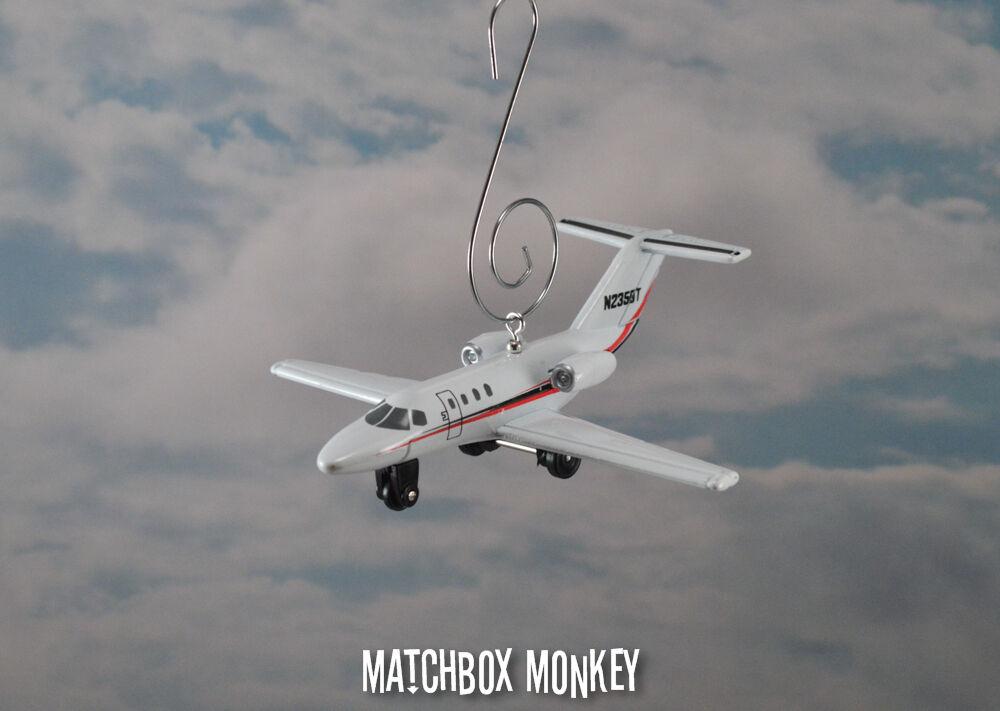 Cessna Citation CJ1 C-525 Navidad Ornamento Single Prop avión aeronave Avión