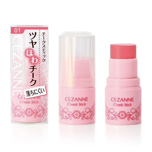 CEZANNE-Cheek-Stick-Natural-Color-Tint-Creamy-Blush-5g-JAPAN-NEW