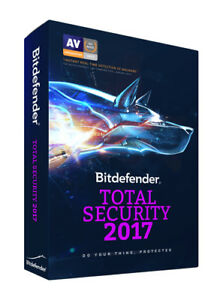 BitDefender Total Security 2019 1 Device - 3 Years Activation Download