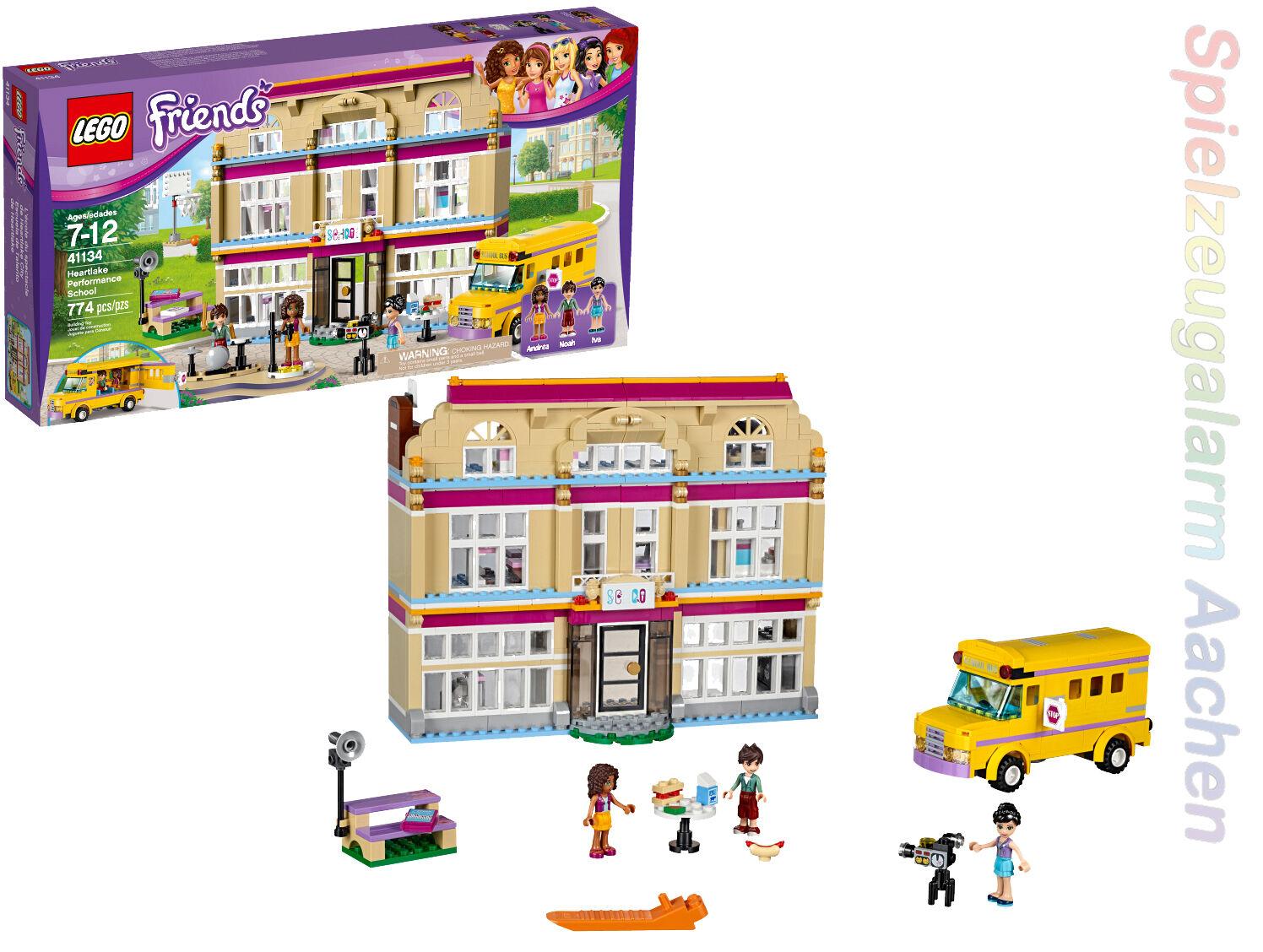 LEGO 41134 Friends Heartlake Kunstschule Tanzschule Performance school noah