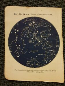 North-Pole-Star-Constellations-Book-Print-c-1915