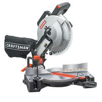Craftsman 10 Compound Miter Saw With Laser Trac 15 Amp Laser Precision