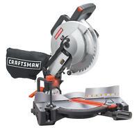 Craftsman 10 Compound Miter Saw With Laser Trac 15 Amp Laser Precision