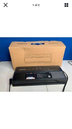 Black /& Silver Automatic Food Sealer E2900-MS//M Geryon Vacuum Sealer Machine