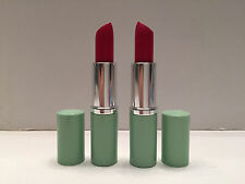 "Brand New! lot of 2: Clinique Long Last Lipstick  Color "" Matte Crimson """