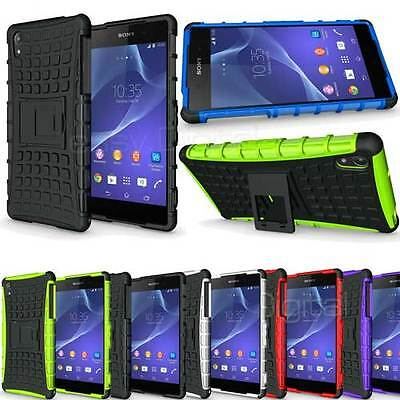 Heavy Duty Armour Shock Proof Builders Workman Case Cover for Sony Xperia Z2