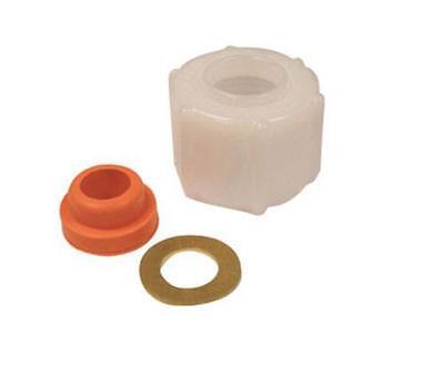 "Danco 81422 Ballcock Supply Nut & Washer, 7/8""ID x 1-1/8"" OD"