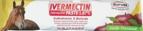 Ivermectin  Paste Dewormer - 6.08g dose @ 1.87%  10 days return