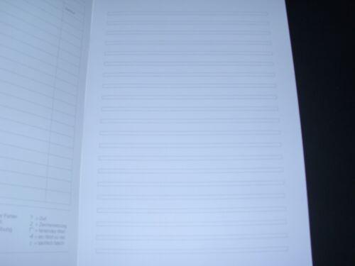 Klasse Nr 3 x Schulheft DIN A4 liniert Lineatur 3 3 Hefte Schulhefte Staufen05
