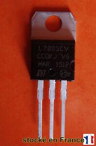 Transistor  L7805CV L7805 KA7805 MC7805 boitier TO-220 ( TO220 ) 5V 1.5A .C34.4