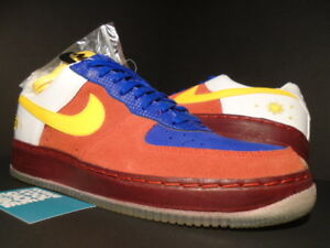 Details about 2006 NIKE AIR FORCE 1 INSIDEOUT PRIORITY PHILIPPINES FILIPINO FLAG PACQUIAO 11.5