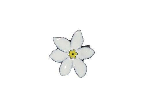 Bague Fleur de Tiaré Lol Bijoux Blanc Tropical