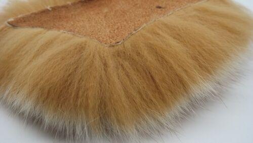 ARCTIC Fox pelliccia tinto in marrone chiaro, (TUN) Fly abbinamento di materiali, strumenti, artigianato