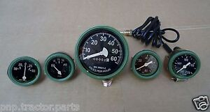 A5 Willys MB Jeep Ford GPW CJ Speedometer Temp Oil Fuel Amp Gauges Kit