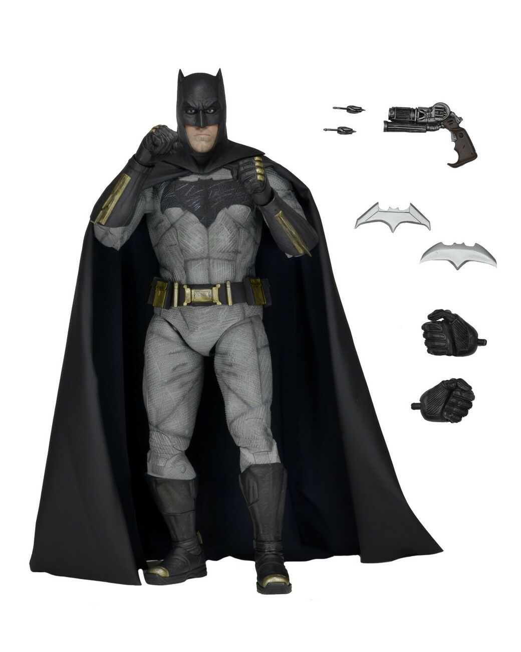 BAThomme vs SUPERhomme  Dawn of  Justice - 1 4 Scale Bathomme Action Figure (NECA)  nouveau  à vendre en ligne