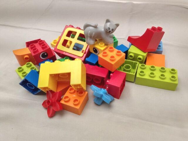 Lego duplo 5416 komplett ohne die Schachtel Katze Tiere Bausteine Ziegel