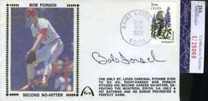 Bob-Forsch-Jsa-Coa-Autograph-1983-Fdc-Hand-Signed-Authentic