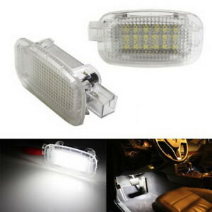 White Exact Fit LED Lamps For Mercedes Side Door, Foot Area, Vanity, Trunk Light