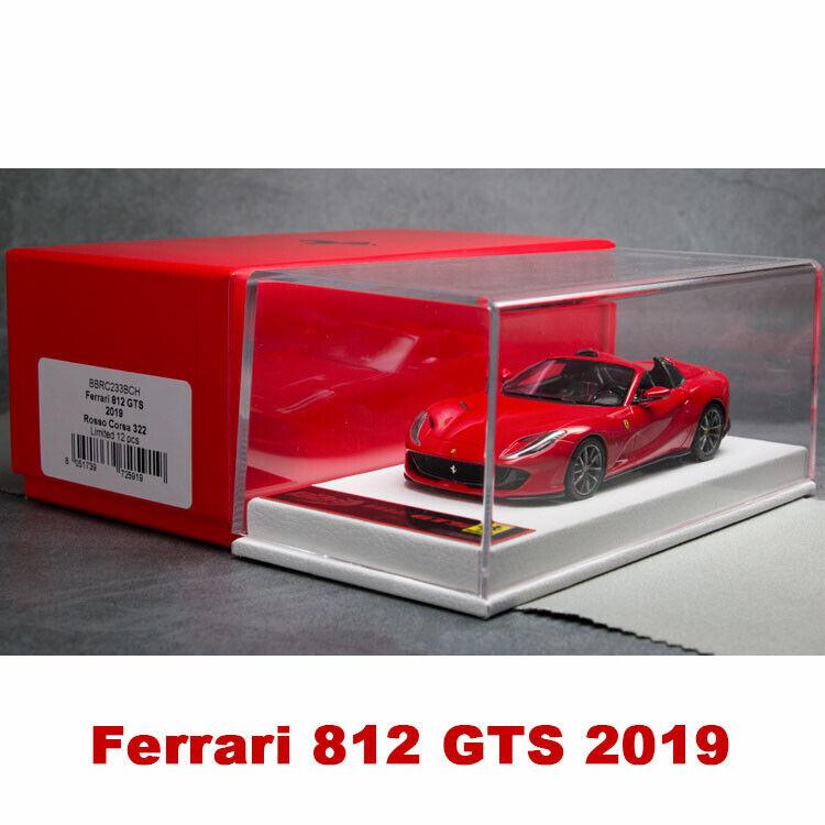 Ferrari 488 Pista Piloti Ferrari Rosso Corsa 322 Red BBR 1:43 BBRC216A