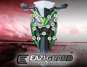 Eazi-guard™ Kawasaki Er6-f 2012-2016 Moto Protection Contre Les Pierres Et