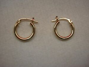 10K-YELLOW-GOLD-HOOPS-FOR-THOSE-TIMES-LARGER-ONES-JUST-AREN-039-T-WHAT-YOU-WANT