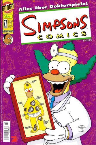 SIMPSONS Comics AUSWAHL