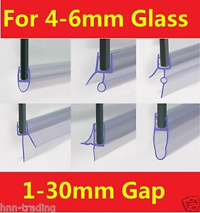 Curve Glass Door Horizontal Seal