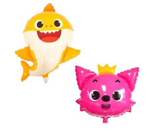 Pinkfong Baby Shark Balloon Birthday Party Supplies Decoration Jumbo Shark