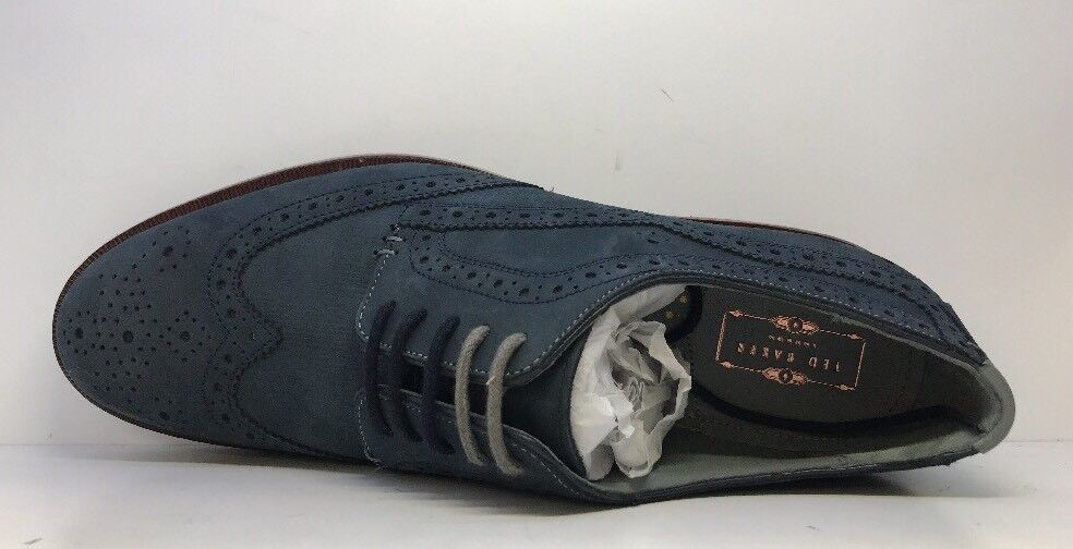 Ted Baker Da Uomo Classic Tg Navy Blue Derby Tg Classic 0a3337