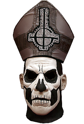 Trick Or Treat Ghost Papa II Emeritus Deluxe Edition Halloween Mask JKGM102