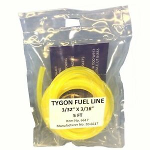 Neuf-Tygon-Jaune-Carburant-Ligne-Tuyau-3-32-034-Pre-decoupe-5-FT-Polaris-Honda