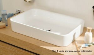 NEW-BetteArt-Counter-Top-Basin-White-A180
