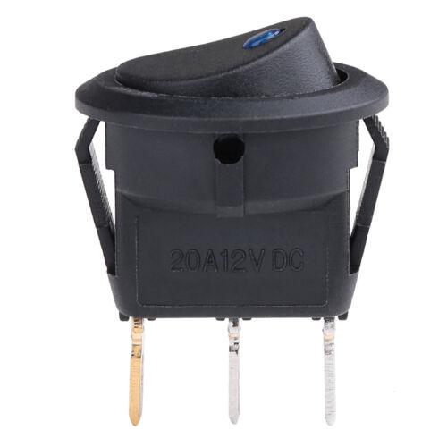 Conmutador 12V LED Coche Impermeable On//Off Interruptor de palanca Reino Unido