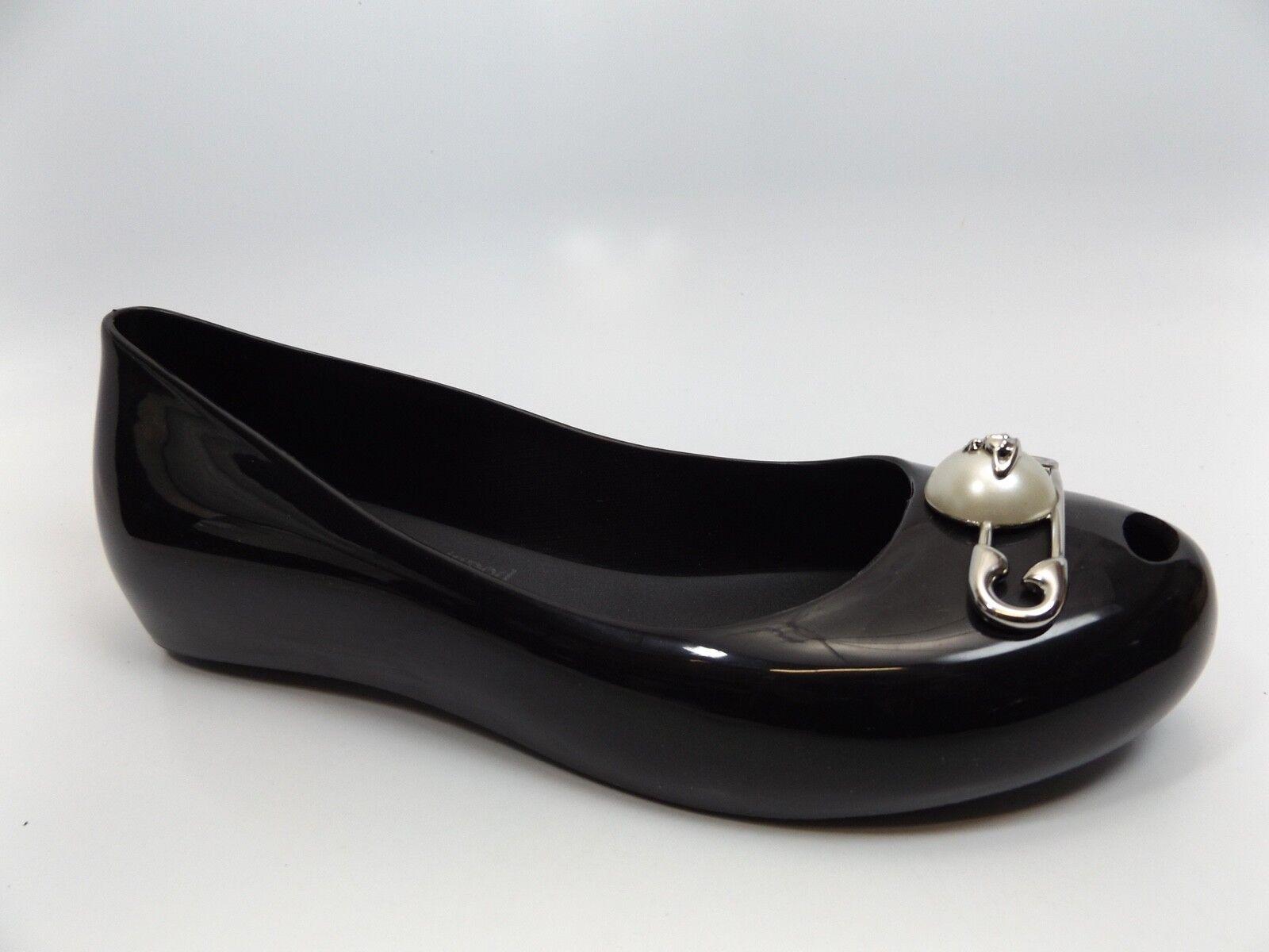 Para mujer Vivienne Westwood Melissa Negro Ultra-Girl 19 PVC PVC PVC zapatos talla 10.0 M D9633  primera reputación de los clientes primero