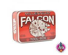 STAR WARS MILLENNIUM FALCON METAL STORAGE COLLECTORS TIN TOOL BOX