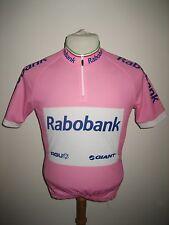 Rabobank MENSJOV Giro d'Italia jersey shirt cycling maglia ciclismo size XS