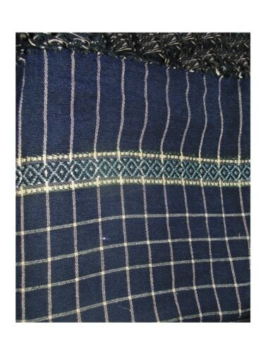 AFGHAN PATOO HANDMADE WARM WOOL CHECK  SOLID PASHTUN SHAWL WRAP MENS WOMEN