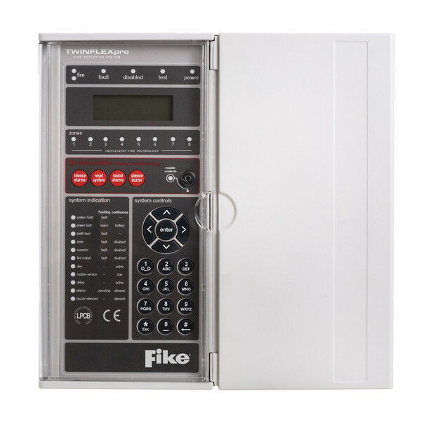 Fike Twinflex Pro 2 Wire 8 Zone Fire Detection and Alarm Control ...