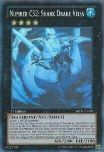 ABYR-JP039 Yugioh Japanese Ultimate Number C32: Shark Drake Veiss